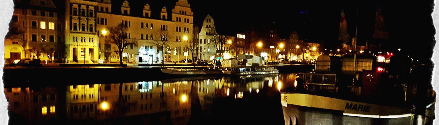 Lübeck zu später Stunde