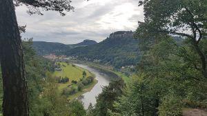 Blick zurück auf Königstein