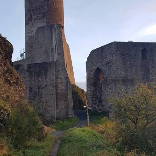 Letzter Eindruck der Ruinen