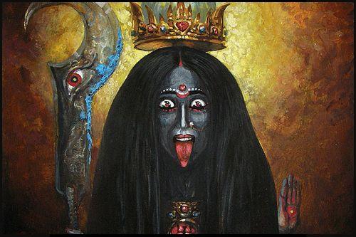 Kali, Déesse de la vie, de la mort et de la transcendance [2] | Rat Holes