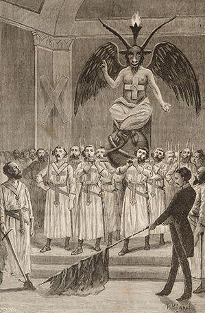 Leo Taxil, Les Mystères de la franc-maçonnerie dévoilés, 1886.