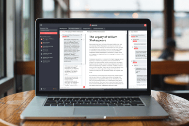 Speare: A Writing Tool for Organizing Ideas - Chaotican Writer