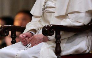 pape François : prier le chapelet avec Marie