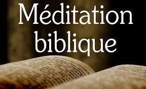 meditation-biblique