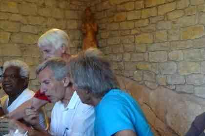 Saint Antoine à la chapelle des Buis