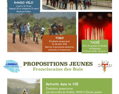 PROPOSITION JEUNES DE LA CHAPELLE DES BUIS