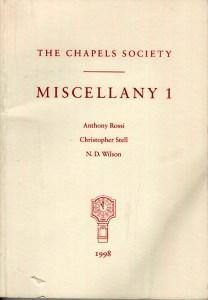 Miscellany 1