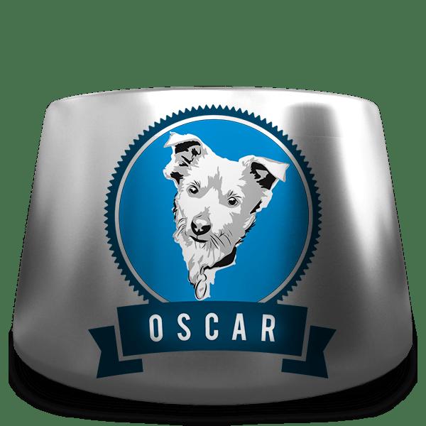Oscar - Chapman Tate Associates lovable mascot