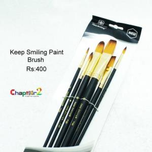 Keep Smiling Paint Brush
