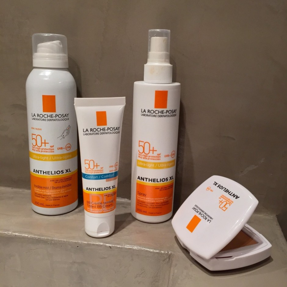 la roch posay spf50 + sunscreens products