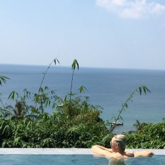 private infinity pool at villa at trisara resort phuket