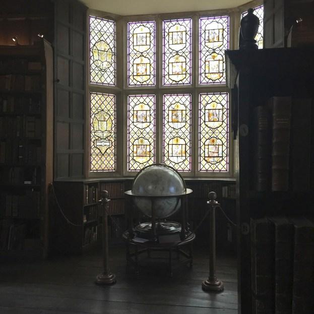Globe merton library Oxford