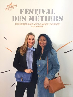 Chapter Fifty Style Festival des Metiers Hermes Tanja Minnee Karen Maes before