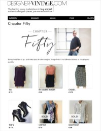 Chapter Fifty Style Private Sale Designer-Vintage.com Chapter Fifty Boutique