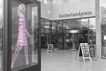 Travel Shopping mall Amsterdam Gelderlandplein Art Julian Opie