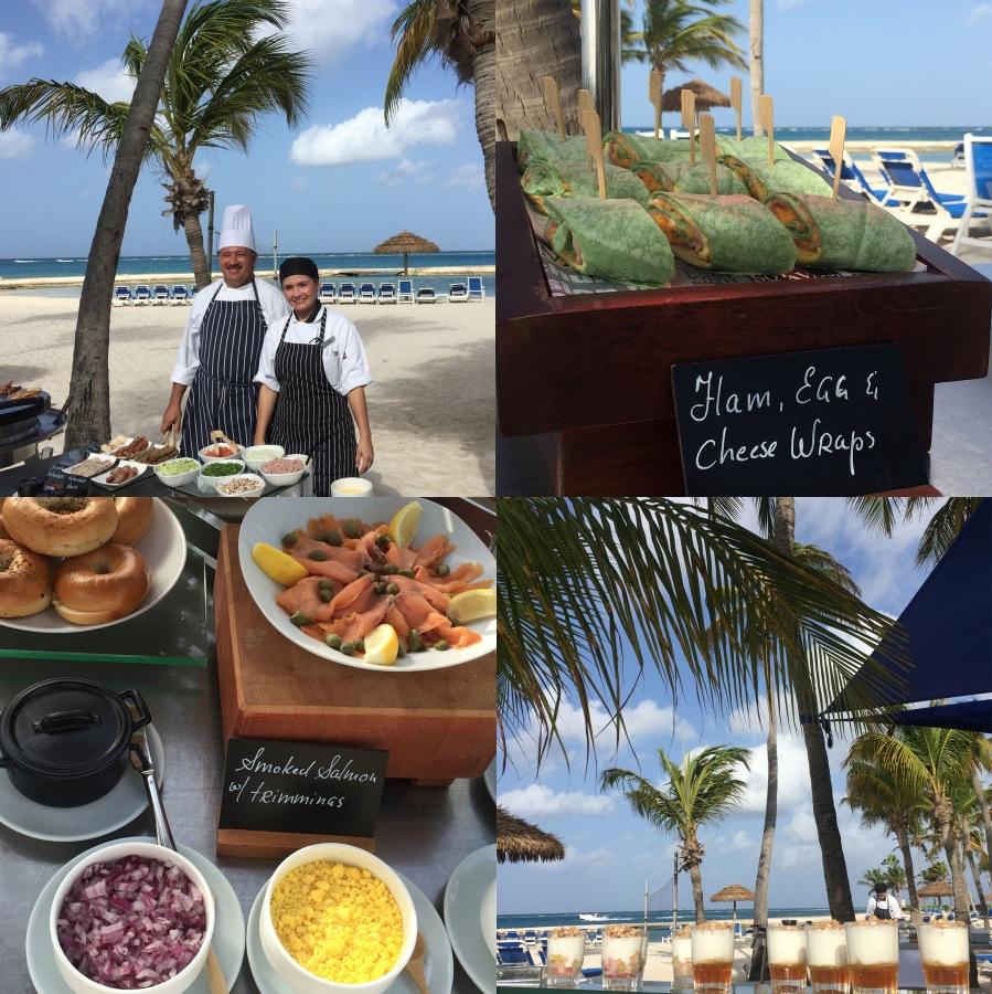 Aruba breakfast Renaissance Resort