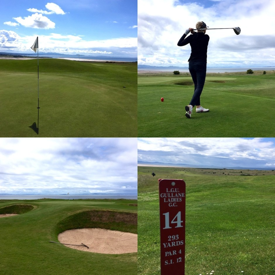 links course Gullane no.2 golf club