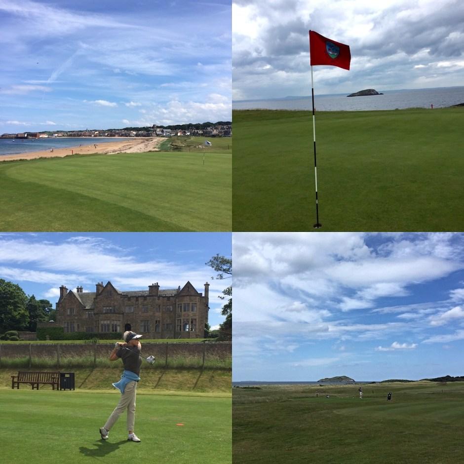 links course North Berwick Golf club