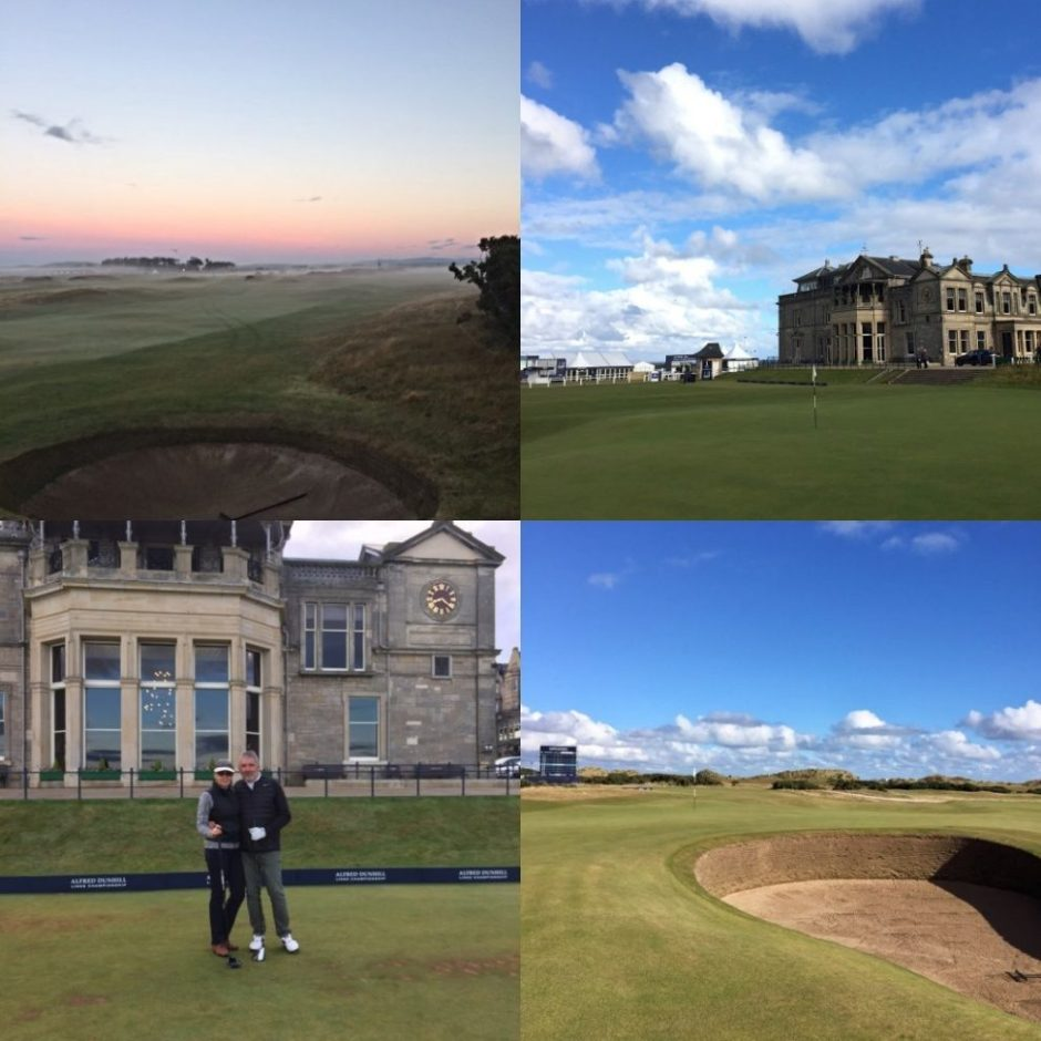 st. andrews old course dunhill links