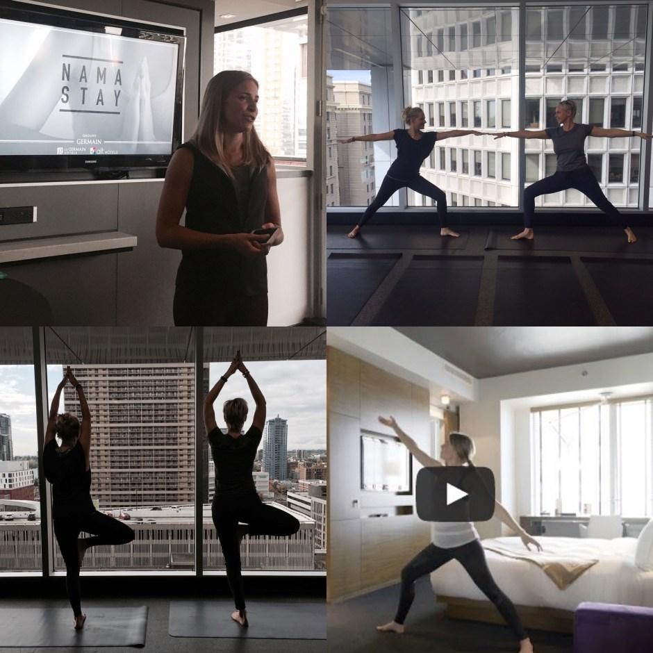 Le Germain Namastay yoga