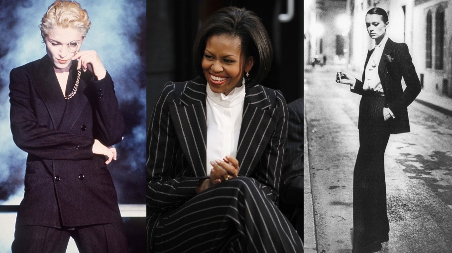 Pauw Amsterdam Michelle Obama Madonna Le Smoking YSL