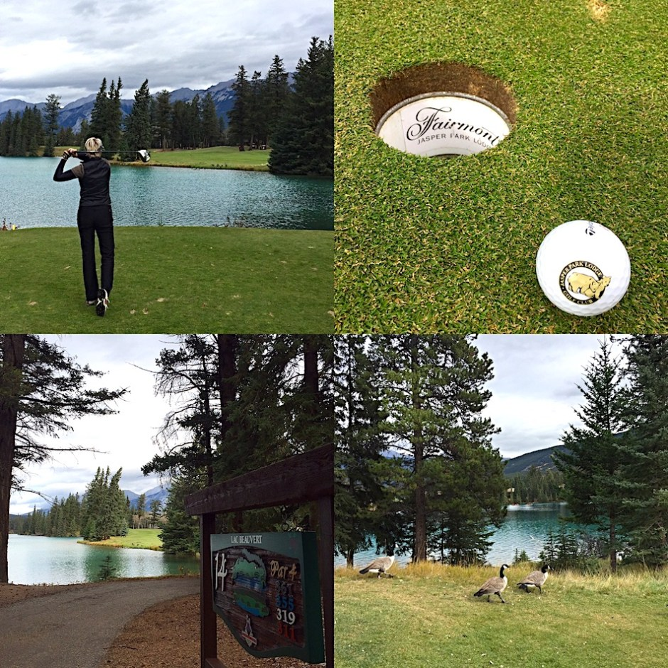 Jasper Park Lodge Golf Canadian Rocky Mountains golf