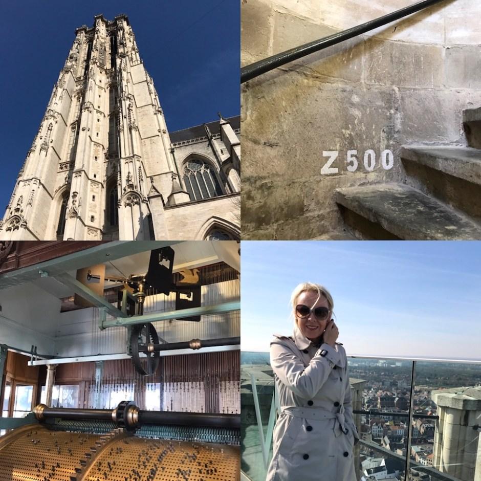 Mechelen St Rumbold's tower