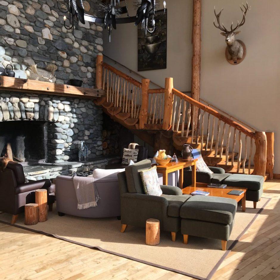 luxury lodge Fiordland Lodge