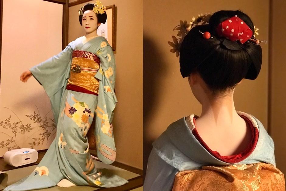 Maiko Gion Kimono