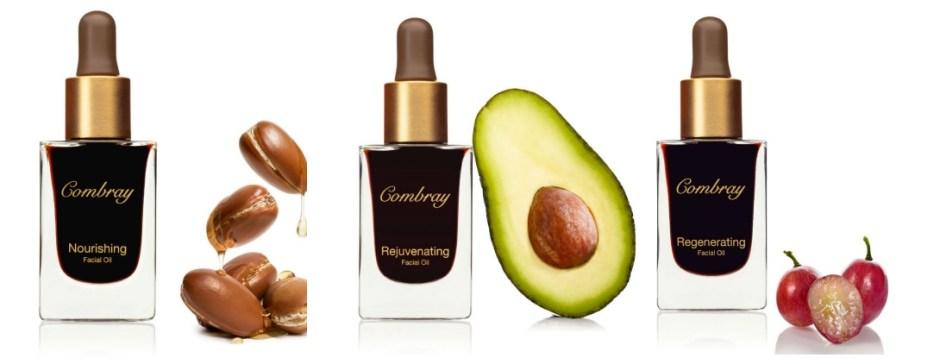 natural skin care Combray facial oil