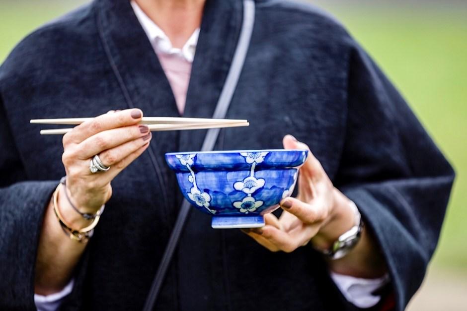 Hanami menu taiko