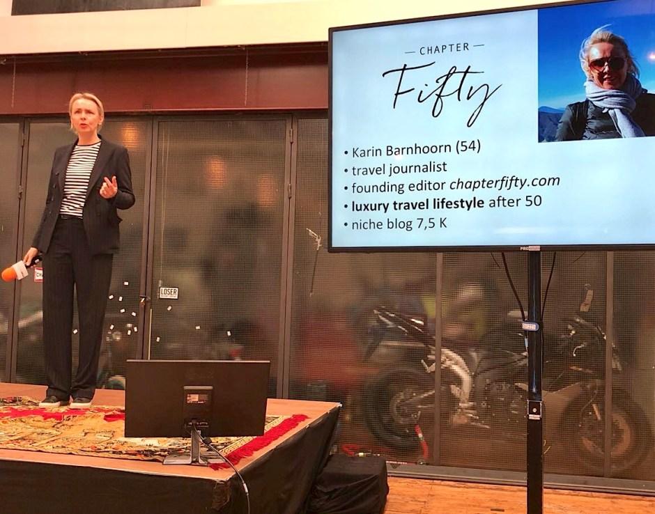 Travel Hero storymakers event talk