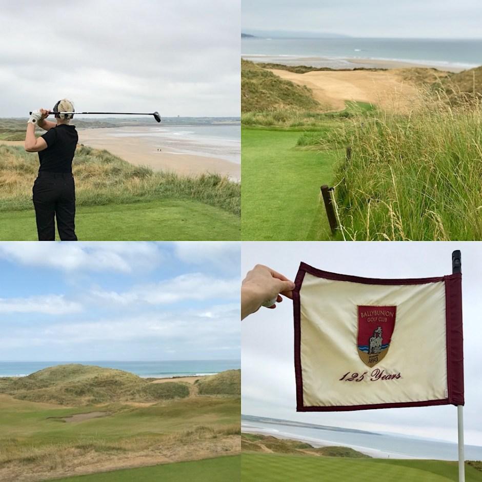 Irish golf ballybunion links