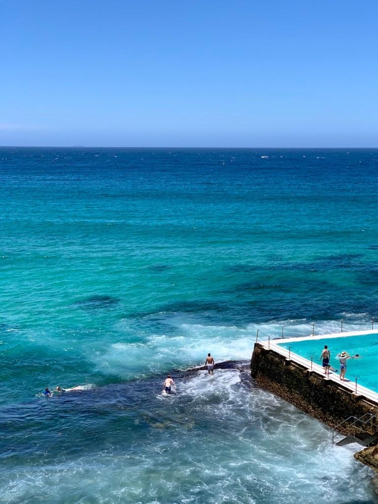Sydney Bondi Beach icebergs rock pool