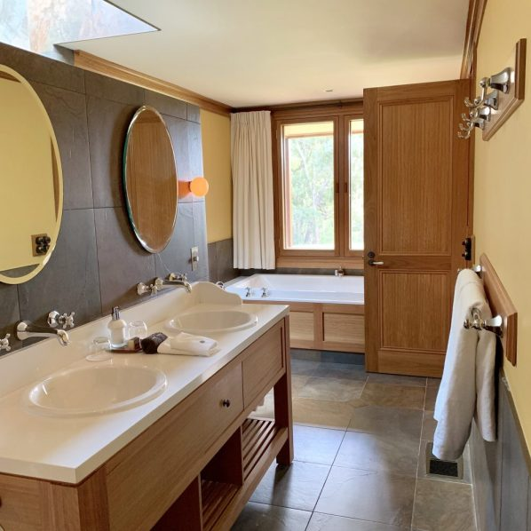 large luxury bathroom
