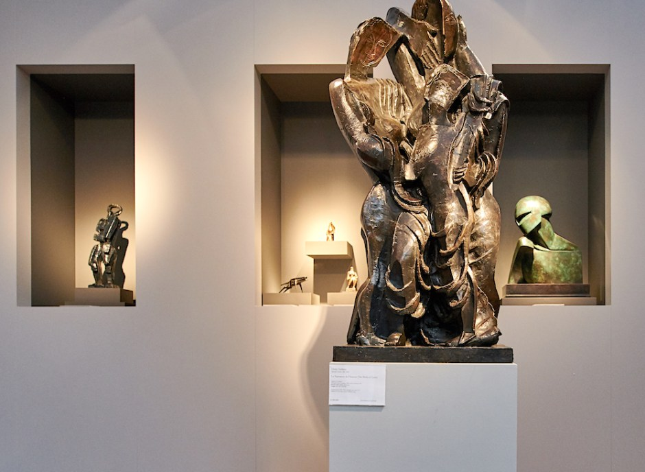 brafa art fair brussels bowman sculpure