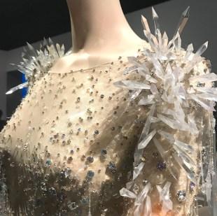 detail Thierry Mugler dress Couturissime Kunsthal Rotterdam