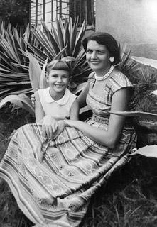 Young Carla Von Bergmann in South Africa