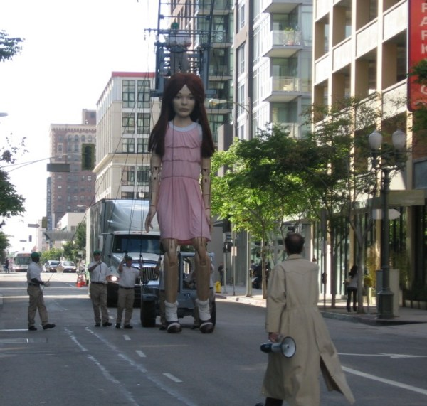 The Character Shop: TCS creates a beautiful 20 foot tall ...
