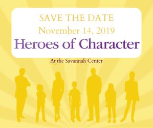 Heroes of Character Celebration 2019 @ Savannah Center   Ohio   United States