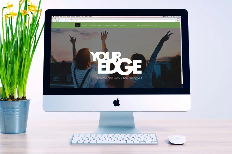 Character Creates Website Design for Your Edge Training