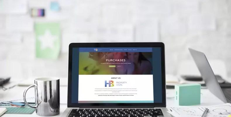 Website Design Liverpool, HB Property Legal