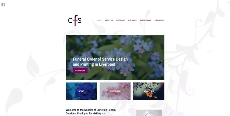 CFS Website Design By Character Creates