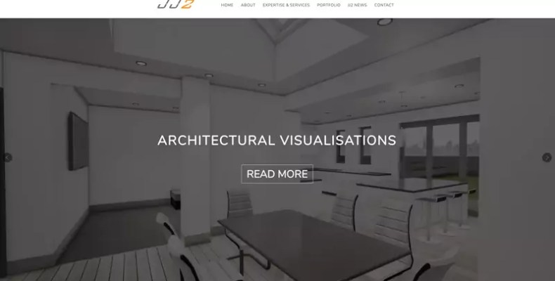 JJ2 Website Design by Character Creates