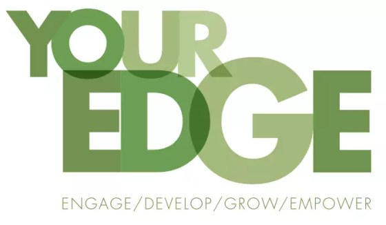 Your Edge Training Logo  by Character Creates