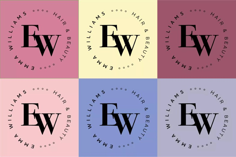 Emma Williams Hair & Beauty Branding by Character Creates Liverpool