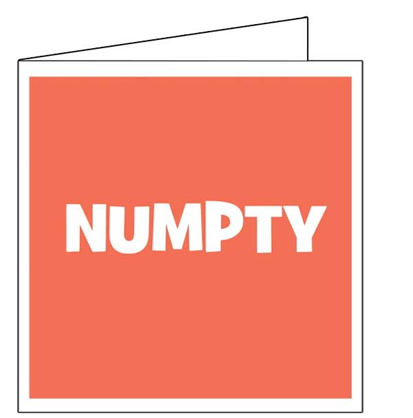 numptycard