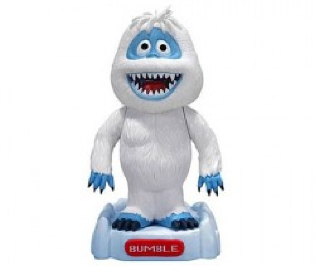 Rudolph The Red Nosed Reindeer Snowman Bumble Bobble Head