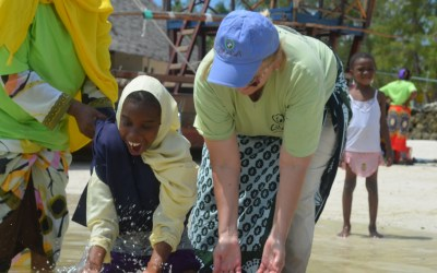 Water And Shoes At Pagali Primary School