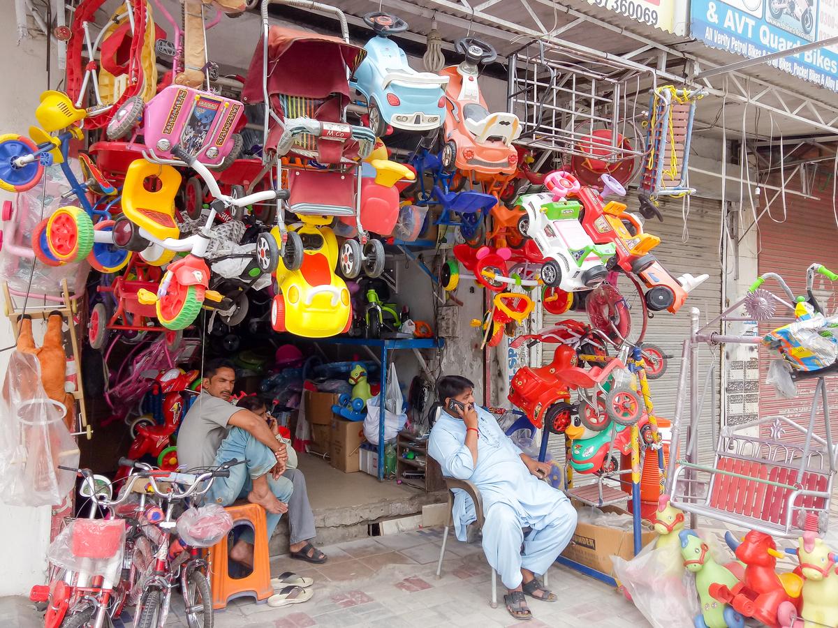Toys in Anarkali